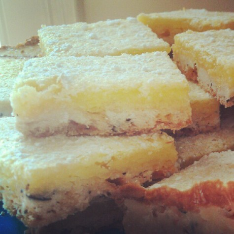 Lemon-Earl Grey Squares