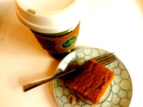 Pumpkin Cornmeal Cake 2